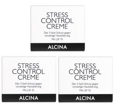 3er Alcina Stress Control Creme 50 ml