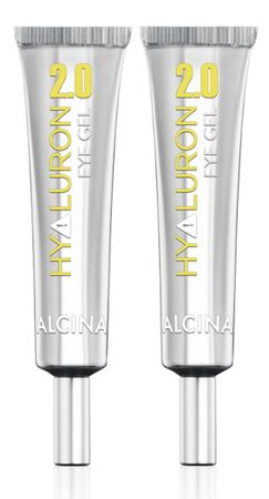 2er Alcina Hyaluron 2.0 Eye Gel 15 ml