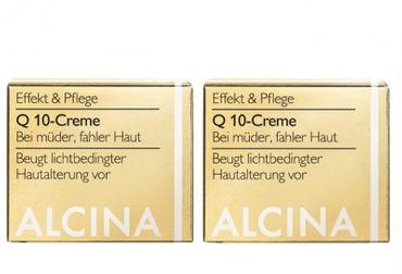 2er Alcina E Q10 Creme 50 ml