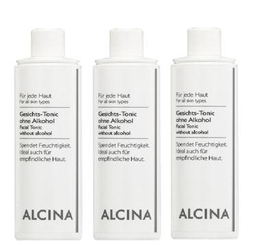 3er Alcina Gesichts Tonic ohne Alkohol 500 ml