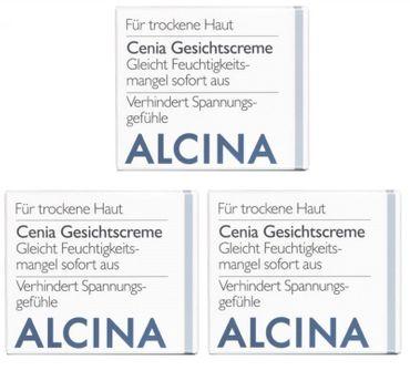 3er Alcina T Cenia Gesichtscreme 50 ml