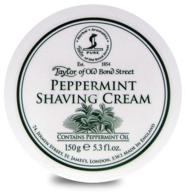 Taylor Peppermint Shaving Cream 150 g