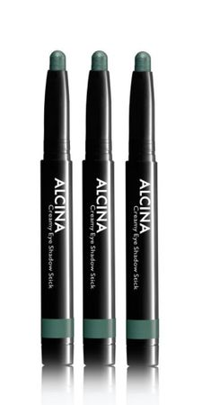 3er Alcina Creamy Eye Shadow Stick Green 040