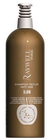 Raywell Vivace Shampoo Reflex Anti Age 5.08 Warm Braun 1000 ml