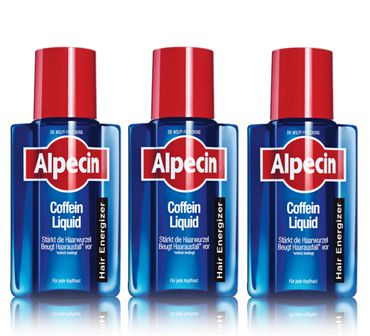 3er Alpecin Coffein Liquid 200 ml