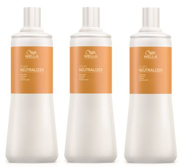 3er Wella Professionals Straight Neutralizer 1000 ml