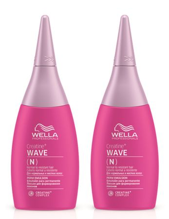 2er Wella Professionals Creatine+ Wave N 75 ml