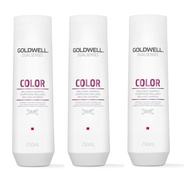 3er Goldwell Dualsenses Color Brilliance Shampoo 250 ml