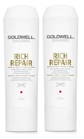 2er Goldwell Dualsenses Rich Repair Aufbau Conditioner 200 ml