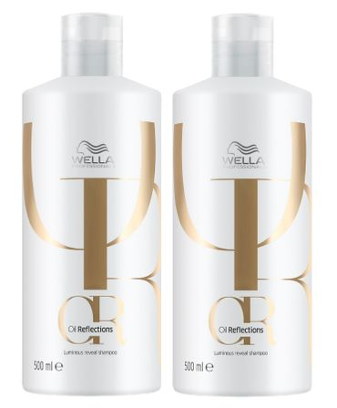 2er Wella Professionals Oil Reflections Shampoo 500 ml