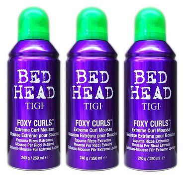 3er TIGI Bed Head Foxy Curls Extreme Curl Mousse 250 ml