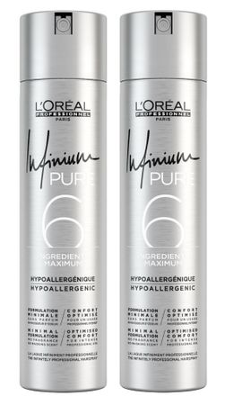 2er Loreal Professionnel Infinium Pure Extra Strong 300 ml