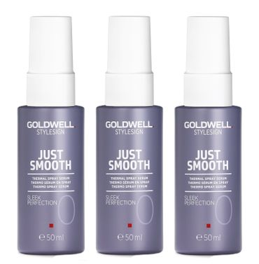 3er Goldwell Stylesign Just Smooth Sleek Perfection 50 ml