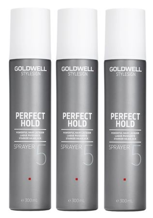 3er Goldwell Stylesign Perfect Hold Sprayer 300 ml