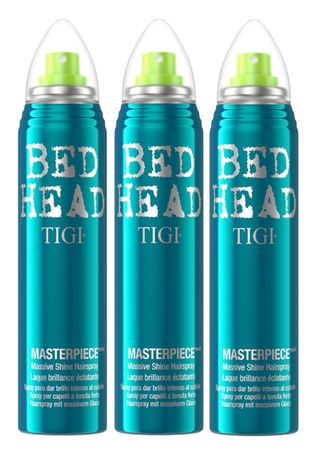3er TIGI Bed Head Masterpiece Hairspray 75 ml