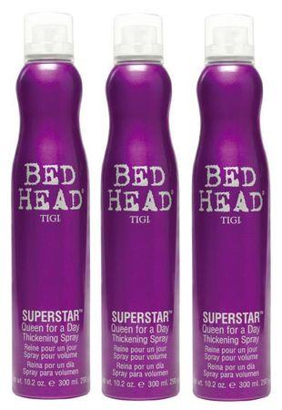 3er TIGI Bed Head Superstar Queen for a Day 320 ml
