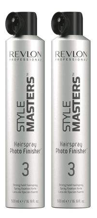 2er Revlon Style Masters Hairspray 3 Photo Finisher 500 ml