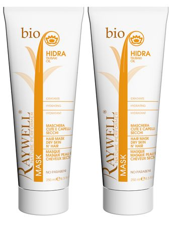 2er Raywell Bio Hidra Hair Mask 250 ml