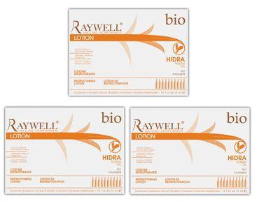 3er Raywell Bio Hidra Restructuring Lotion 10 x 10 ml