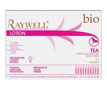 Raywell Bio Tea Woman Hair Loss Ampullen 10 x 10 ml