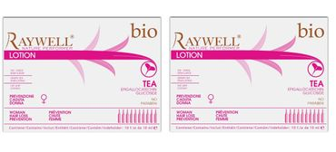 2er Raywell Bio Tea Woman Hair Loss Ampullen 10 x 10 ml