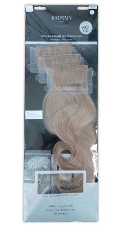 Balmain Double Hair Extensions 9A 40 cm