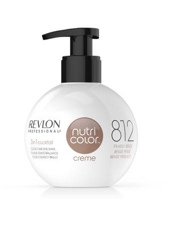 Revlon Nutri Color Creme Pigment Kur Kugel 812 Pearly Beige 270 ml