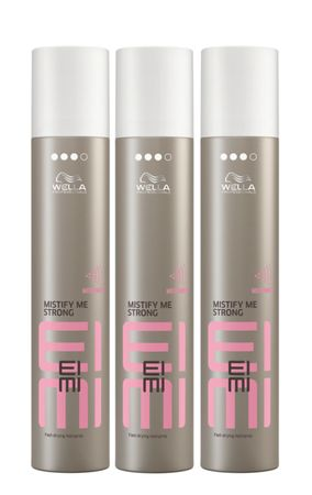 3er Wella Professionals Eimi Mistify Me Strong 300 ml
