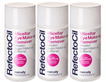 3er Refectocil Micellar Eye Make-Up Remover 150 ml