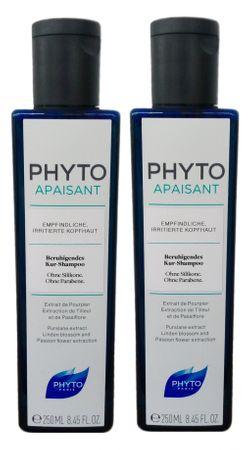 2er Phyto Apaisant Shampoo 250 ml