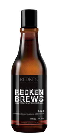 Redken Brews 3 in 1 Shampoo 300 ml