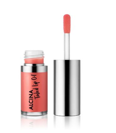 Alcina Tinded Lip Oil Peach