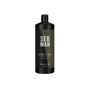 Sebastian Professional SEB MAN The Multitasker 3in1 Hair, Beard ans Body Wash 1000 ml