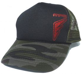 MFC Hawaii Teamrider Base Cap - Logo, Black/Camou
