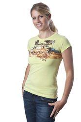 Neil Pryde Katharine Damen T-shirt in light lemon