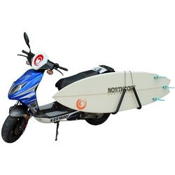 "Northcore ""Moto Rack"" Moped Surfboard Träger – Bild 3"