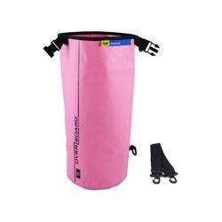 OverBoard wasserdichter Packsack 5 Liter Pink – Bild 3