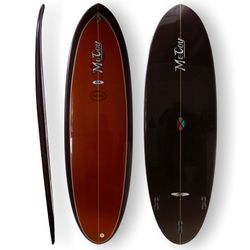 Surfboard McCoy - Double Ender 6.8 XF brown