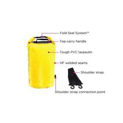 OverBoard wasserdichter Packsack 20 Liter Rot – Bild 5