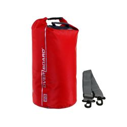 OverBoard wasserdichter Packsack 20 Liter Rot – Bild 1