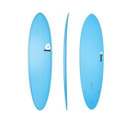 Surfboard TORQ Epoxy TET 7.2 Funboard  Blue – image 1