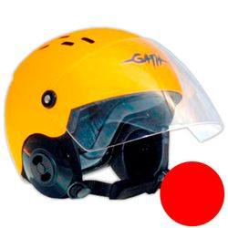 GATH Helm RESCUE Safety Rot matt XL SMOKE Visier – Bild 1