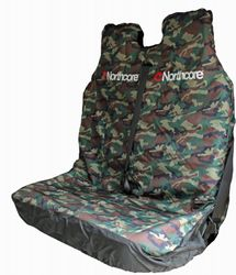 Northcore - Waterproof Sports Car Seat Cover (Doubleseat), CAMOU