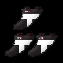 SURF Finnen T1 Thruster - MFC Finnenset (2x Side / 1x Center)