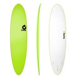 Surfboard TORQ Softboard 7.6 Funboard Grün – Bild 1