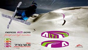 Aeros ALTI Snowkite - Freestyle / HighMountain – Bild 10