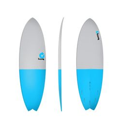 Surfboard TORQ Epoxy TET 5.11 Fish FiftyFifty – image 1