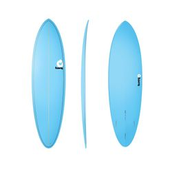 Surfboard TORQ Epoxy TET 6.8 Funboard  Blue – Bild 1
