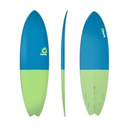 Surfboard TORQ Epoxy TET 6.6 Fish FiftyFifty – Bild 1