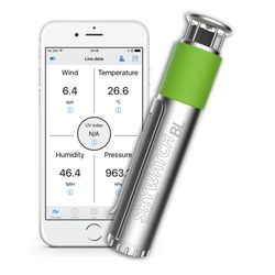 Wetterstation Skywatch BL400 Bluetooth Windmesser – Bild 2